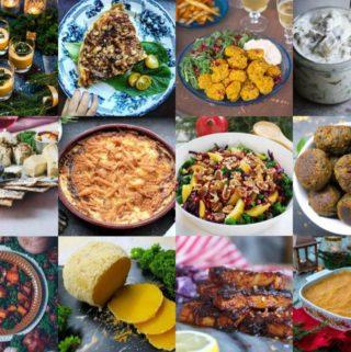Vegetariska julrecept från svenska matbloggare