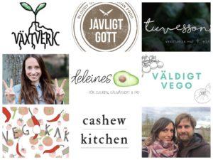 De bästa svenska vegan och vegetariska matbloggarna