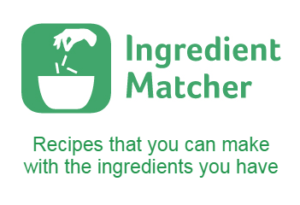 "<i>""What shall I make for dinner tonight?"" </i><br />Ingredient Matcher has got the answer!"