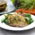 Clean eating by Annika - Grönsaksplättar med zucchini och morot