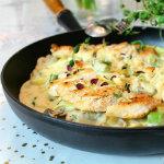 Daniel Lakatosz - krämig pasta med kyckling champinjoner och dijonsenap