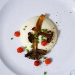 Frallans matblogg - Tratkantareller med rotselleripure och rönnbär