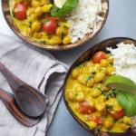 ceciliafolkesson - vegetarisk curry bowl med kikärtor