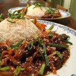 salt och peppar - Tunnskuren högrev i kryddig soyasås