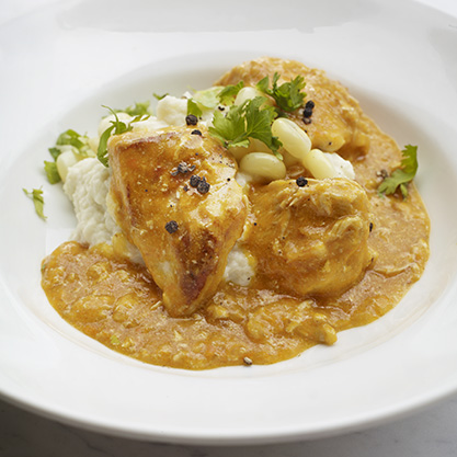 Chicken with chili and peanuts - Pollo al mani