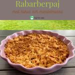 Rabarberpaj-kokos
