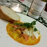 Kardemummaguman - Fisk och skaldjursgryta med saffran och vittvin