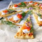 Lindas matstuga - löjromspizza med västerbottenost