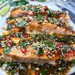 Zofias kök - lax med asiatiska smaker zofias kök