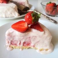 Glutenfria godsaker - Glutenfri jordgubbscheesecake