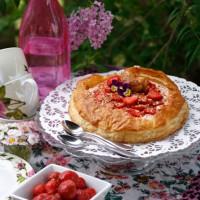 Matsafari - snabb jordgubbstårta