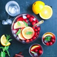 Pia - Sangria med apelsin och jordgubbar