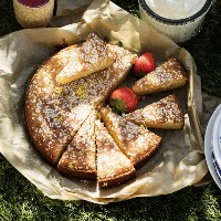 Sandras - Saftig citron och mandelkaka