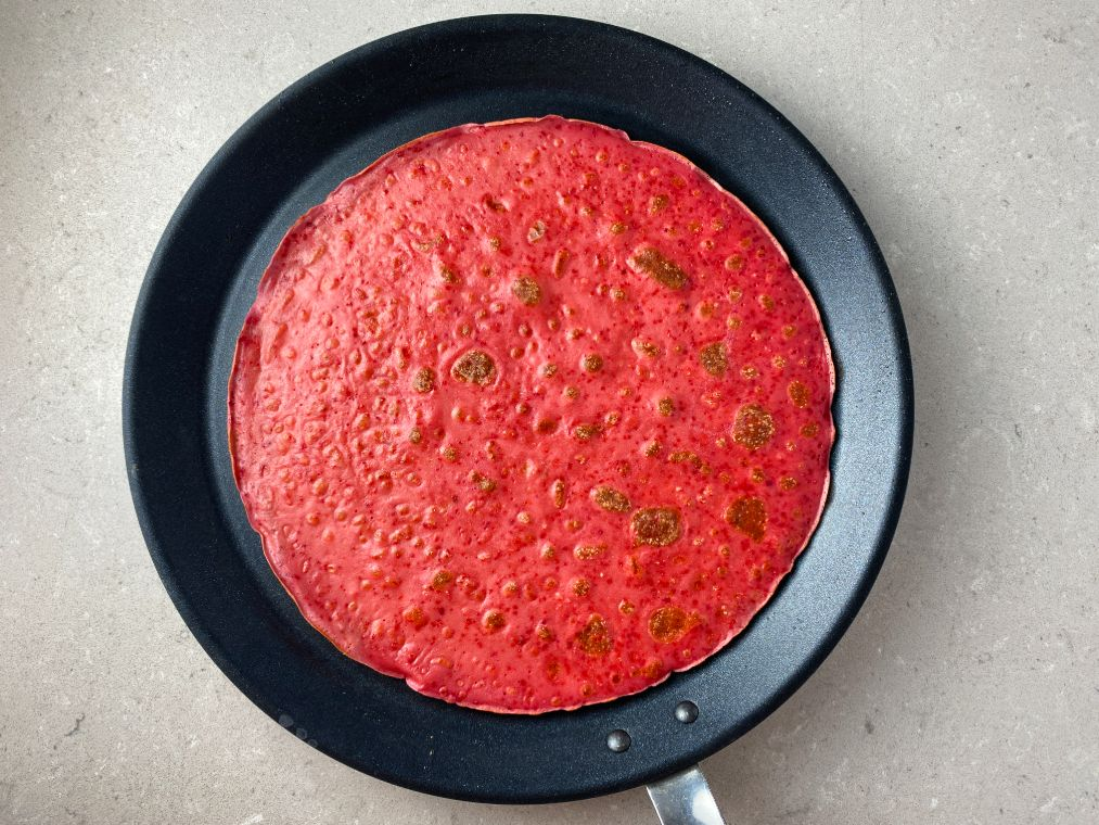 Blodpannkaka - rödbetspannkaka
