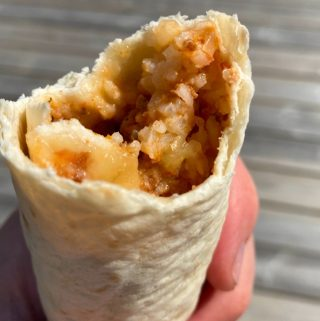 Burrito med köttfärssås