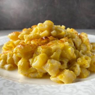 Macaroni & cheese med pumpa