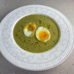 Potatis och purjosoppa med grönkål