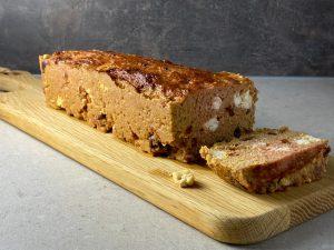 Vegetarisk köttfärslimpa grekisk stil