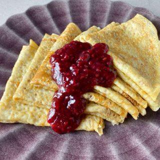 recept pannkakor och pannkakssmet till plättar