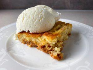 Äppelkaka med dulce de leche