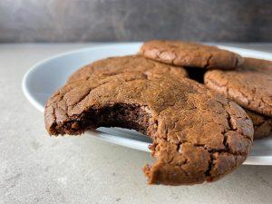 kladdkakecookies eller brownie cookies