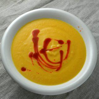 Morots och sötpotatissoppa