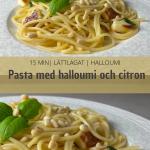 Pasta-halloumi-citron