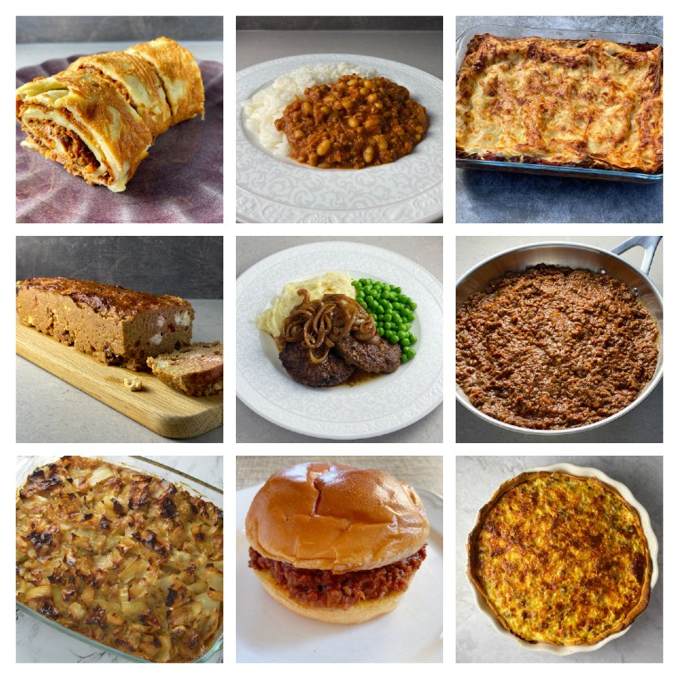 Recept med köttfärs