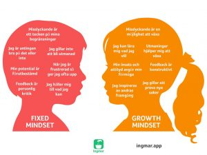 Growth Mindset vs fixed mindset