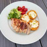 Kyckling marinerad i yoghurt